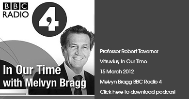 BBC Radio 4 Vitruvius, In Our Time